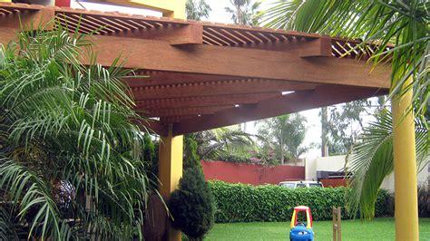 techos de madera para terrazas techos de madera en huayruro tornillo shihuahuaco y