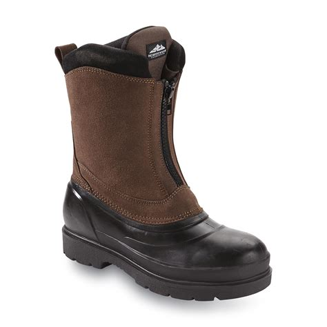Boots Wanita Import Winter Boots 8 northwest territory s kline2 8 quot brown insulated winter boot