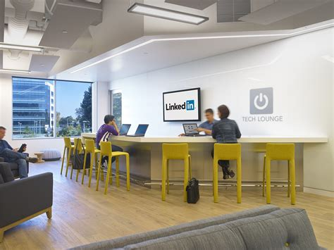 tech office pictures take a look at linkedin s new sunnyvale office officelovin