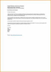 Recommendation Letter With Exles 10 Exles Of Reference Letters Resume Reference