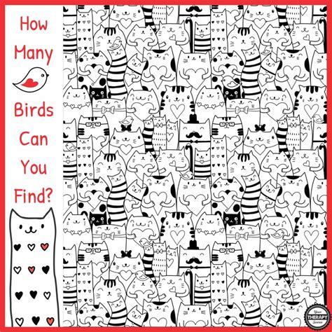 How Many Search How Many Birds Can You Find Visual Perceptual Activity