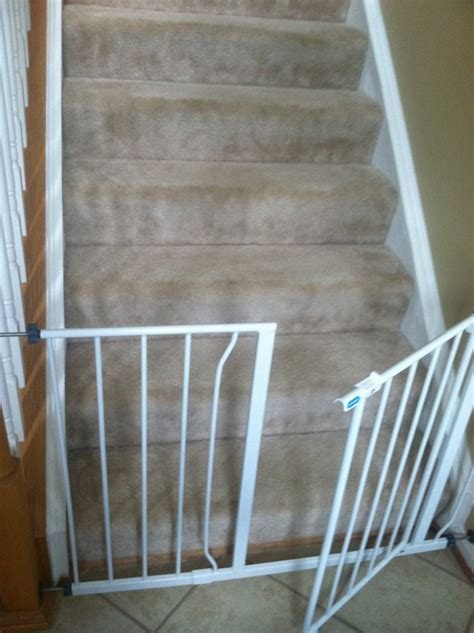 baby gate banister mount baby gates on wrought iron railing parenting 101
