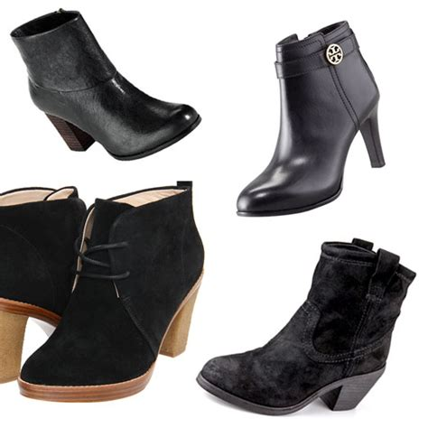 best ankle booties rank style the ten best black ankle boots