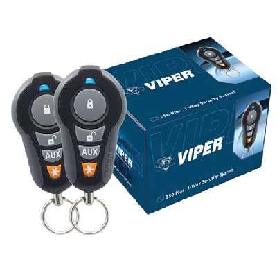 viper 350 plus 1 way security alarm system 3105v