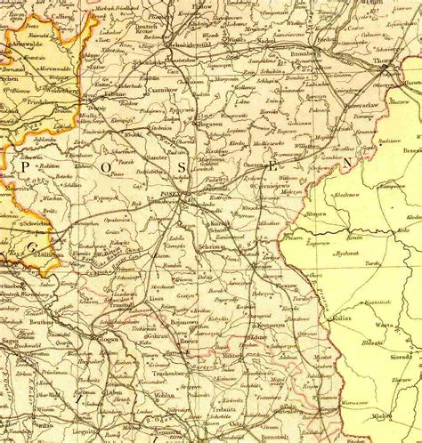 Posen Germany Birth Records Map Resources Atpc
