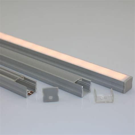 recessed led strip lighting recessed led light strip led alu profile