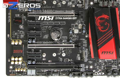 reset bios z170a review placa madre msi z170a gaming m7 ozeros