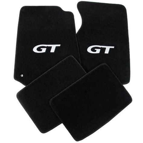 Mustang Gt Floor Mats by Mustang Floor Mats W Gt Logo Black 94 04 012151 4391 4411