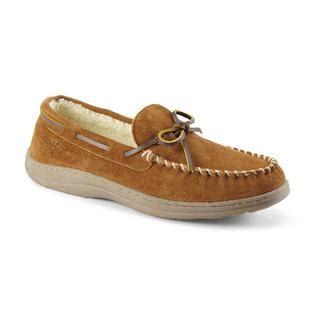 sears slippers for craftsman s suede moccasin slipper