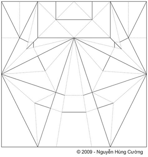 Origami Scorpion Pdf - jucumari cp crease pattern of my spectacled
