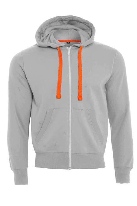 Hoodie Zipper Franky C3 boys fleece zip up hooded sweatshirt neon strings sleeve jacket top