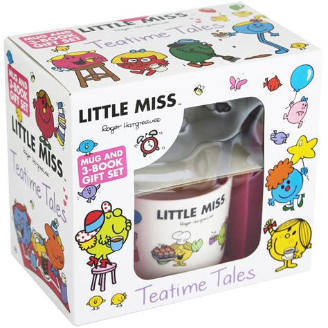 little miss mug and book gift set by roger hargreaves mr