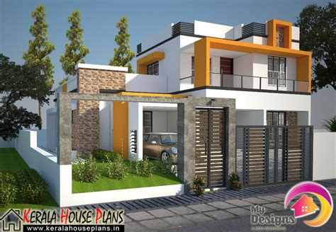 contemporary home plans and designs kerala house plans elevation floor plan kerala home