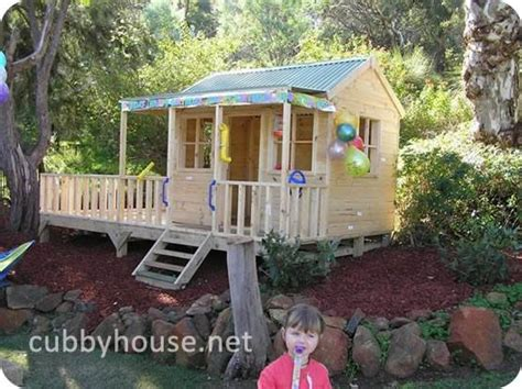 backyard cubby house how to ensure safe play in your cubby house and backyard