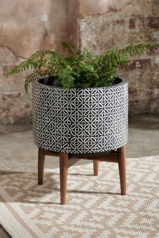 buy geometric plant stand    uk  shop