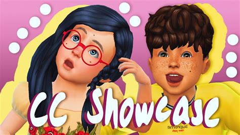cc for the sims 4 the sims 4 toddler cc showcase youtube
