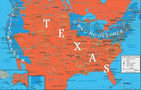 future us map future map of the united states
