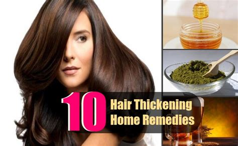hairstyle with home rrmedies hair thickening treatments hairstylegalleries com