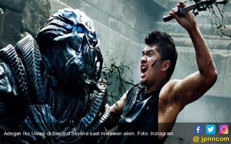 aktor film beyond skyline trailer beyond skyline ada iko uwais vs alien di candi