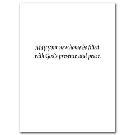 god bless your new home new home card