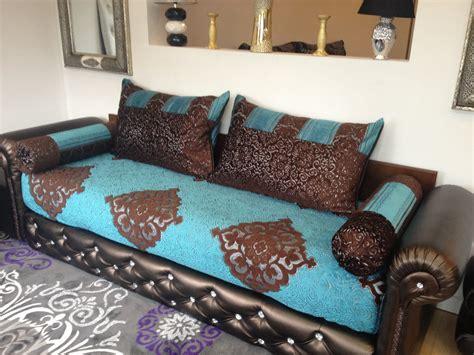 canapé style marocain housse salon marocain moderne