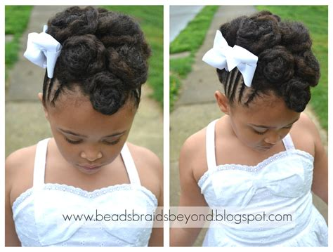 Hairstyles For Little Black Girls For Easter | beads braids and beyond easter hairstyles for little
