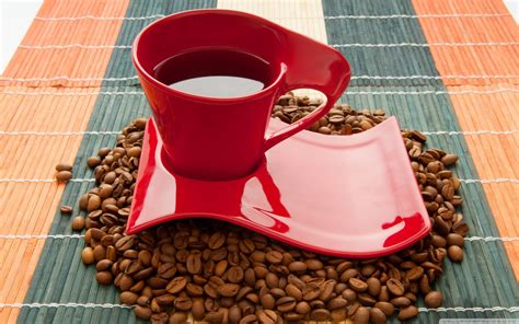 Coffee Wallpaper Red | cups and dishes images red coffee cup wallpaper hd