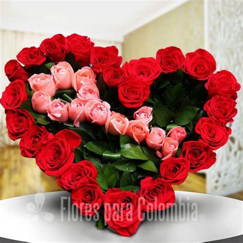 ramos de rosas para san valentin dise 241 o floral en forma de coraz 243 n con rosas jpg 800 215 800