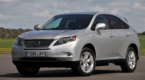 lexus rx450h 2009 review car magazine