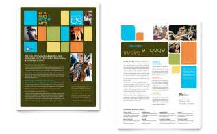 arts council amp education datasheet template word amp publisher