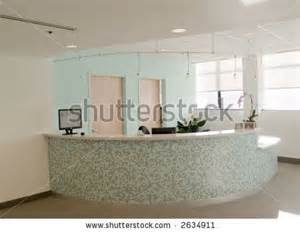 Tiled Reception Desk by The Colors The Mosaic Tile On The Curved Reception