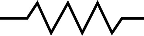 symbol resistor variable resistor symbol clipart best