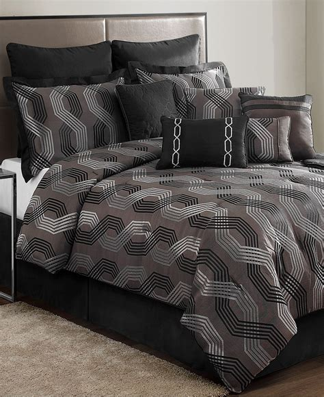 macy s bed and bath marquee 12 piece comforter sets black friday specials