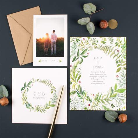 Hochzeitseinladung Zweisprachig by Save The Date Hochzeitsblog Lieschen Heiratet
