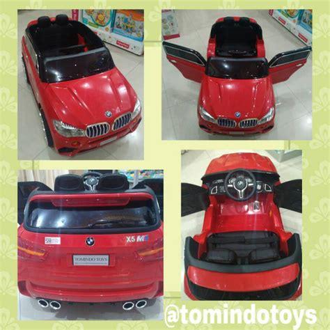 Mainan Mobil Aki Anak Bmw X 5 White jual mainan mobil aki bmw x5 tm6520 seat