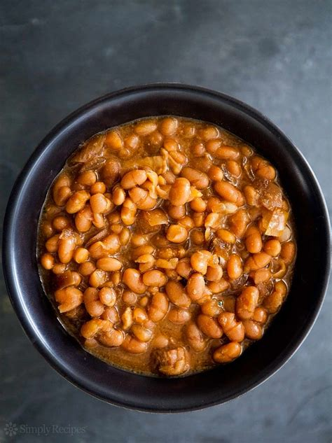 Baked Bean cooked boston baked beans recipe simplyrecipes