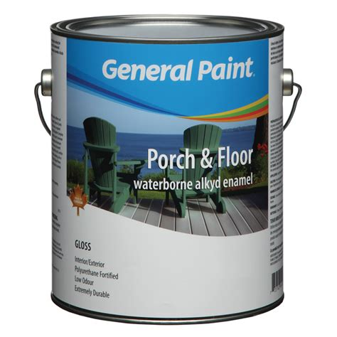 General Paint Porch And Floor Acrylic Enamel Paint