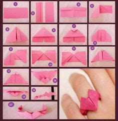 How To Make Paper Rings Origami - 1000 images about origami on diy
