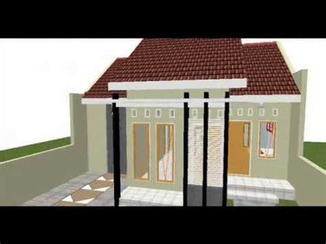 gambar desain rumah walet ukuran 4x6 wall ppx