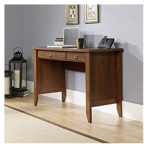 sauder shoal creek computer desk sauder shoal creek computer desk oak finish by sauder at