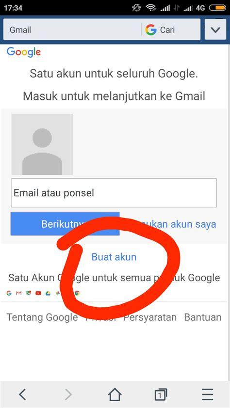 membuat email gmail lewat hp android kumpulan
