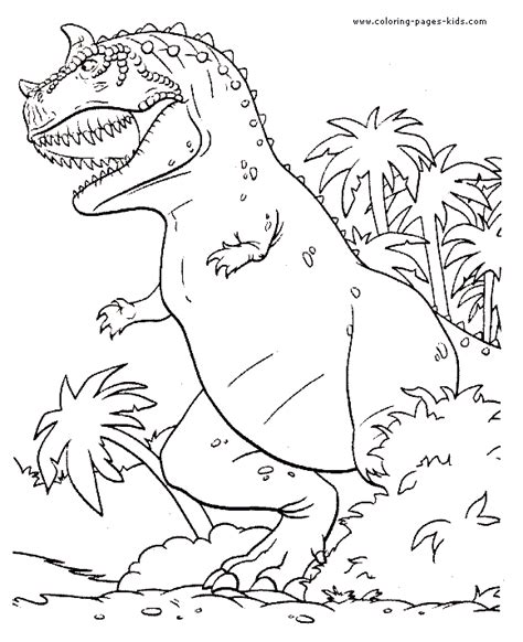 disney dinosaur coloring page free carnotaurus coloring pages
