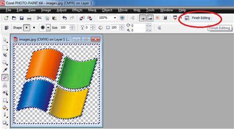 membuat gambar transparan di corel x3 keluar kemana cara membuat background transparan di coreldraw