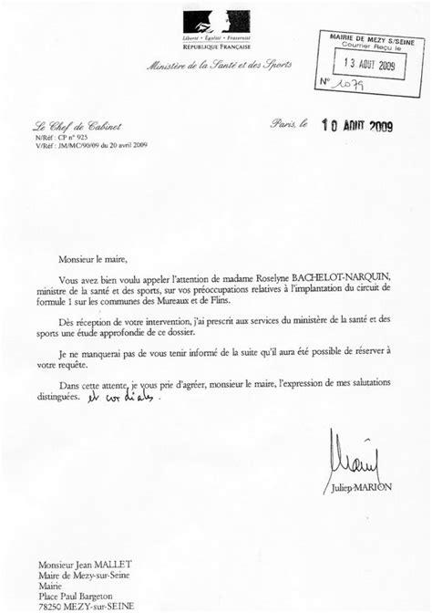 Exemple De Lettre Pour Courrier Administratif Exemple De Courrier Administratif