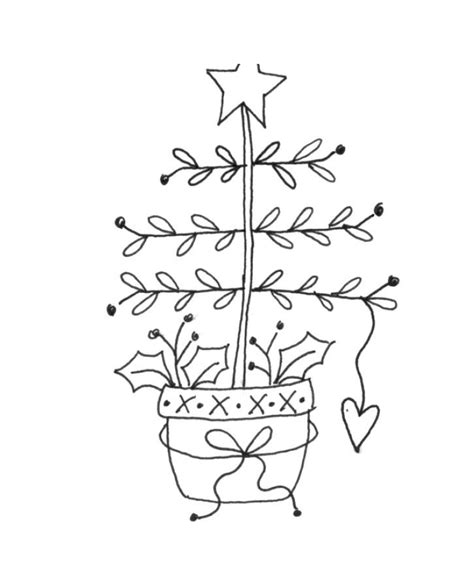 christmas tree hand embroidery pattern 17 best images about primitive stitchery christmas on