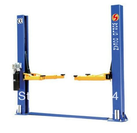 home garage car lift auto two post car lift with ce 4t