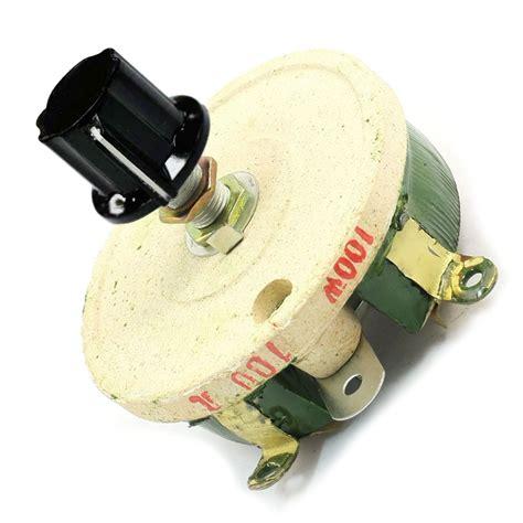 100 ohm ceramic resistor 100w 100 ohm ceramic wirewound potentiometer rotary resistor rheostat dt