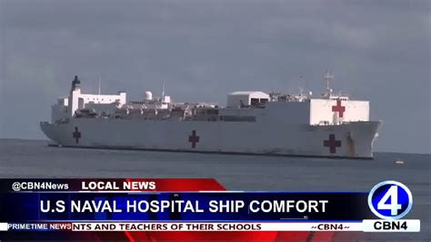 navy hospital ship comfort us naval hospital ship comfort arrives in dominica youtube