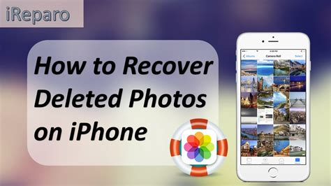 iphone photo lost how to recover deleted photos from iphone 7 7 plus se 6s 6 5s 5