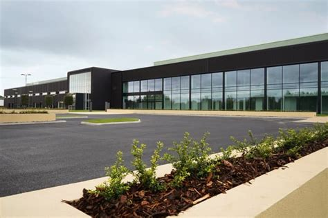 aston martin factory aston martin factory in wales phase 1 is complete